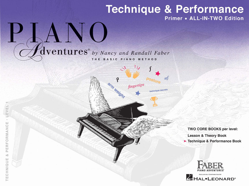 Piano Adventures® Primer Level Technique & Performance Book