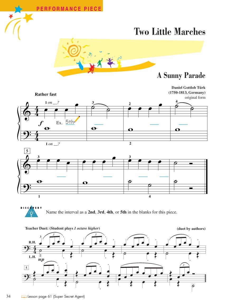 Piano Adventures® Level 1 Technique & Performance Book