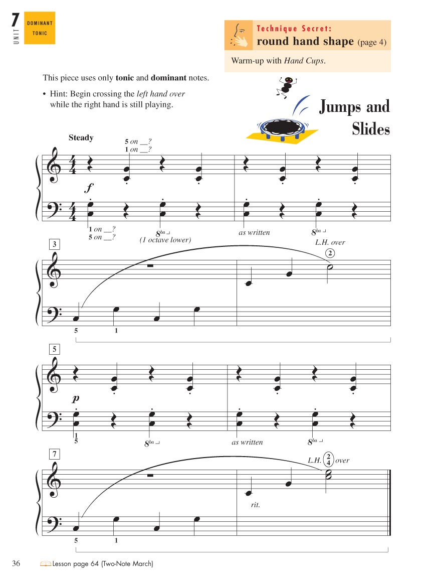 Piano Adventures® Level 1 Technique & Performance Book