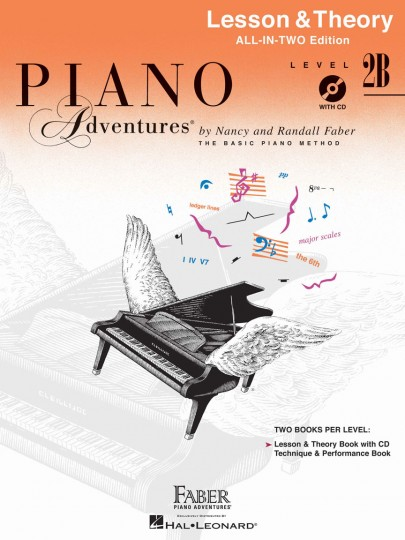 Piano Adventures® Level 2B Lesson & Theory Book with CD
