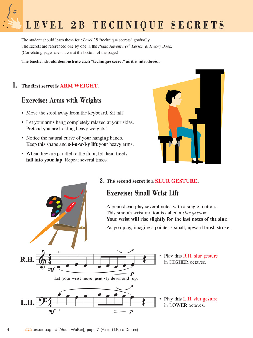 Piano Adventures® Level 2B Technique & Performance Book