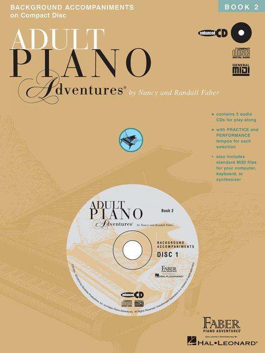 Adult Piano Adventures All-in-One Lesson Book 2 CD