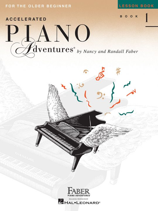 Accelerated Piano Adventures® Lesson Book 1