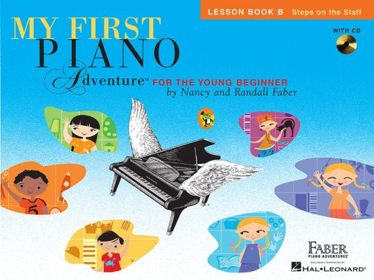My First Piano Adventure® Lesson Book B with CD