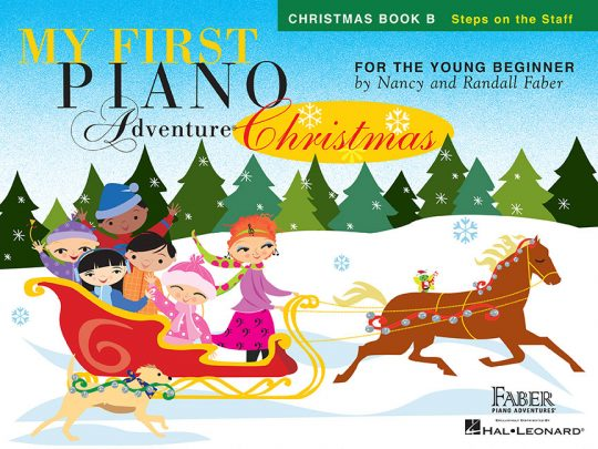 My First Piano Adventure® Christmas Book B