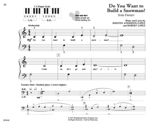 PreTime® Piano Disney