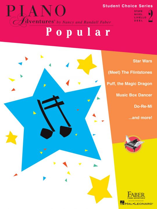 Piano Adventures Student Choice Popular Level 2