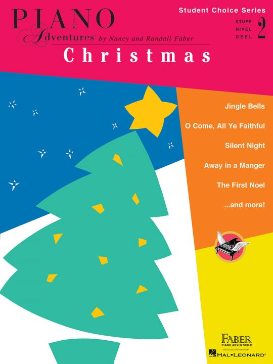 Piano Adventures Student Choice Christmas Level 2