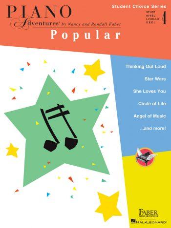 Piano Adventures Student Choice Popular Level 4