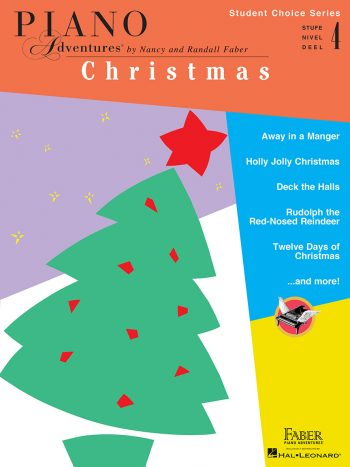 Piano Adventures Student Choice Christmas Level 4