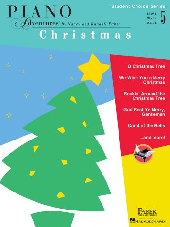 Piano Adventures Student Choice Christmas Level 5