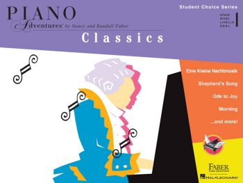 Piano Adventures Student Choice Classics Level 1