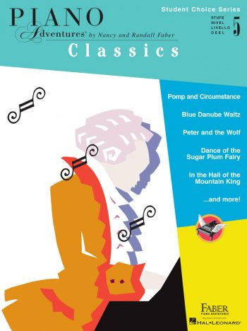Piano Adventures Student Choice Classics Level 5