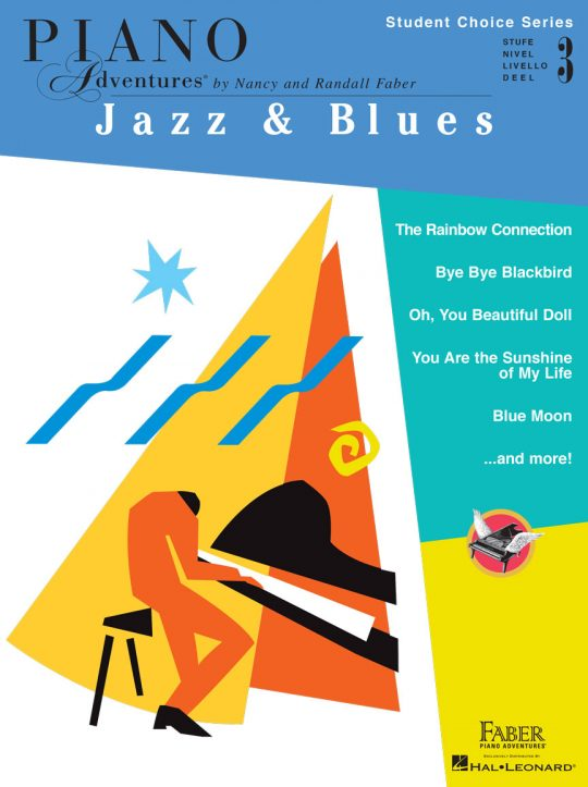 Piano Adventures Student Choice Jazz & Blues Level 3