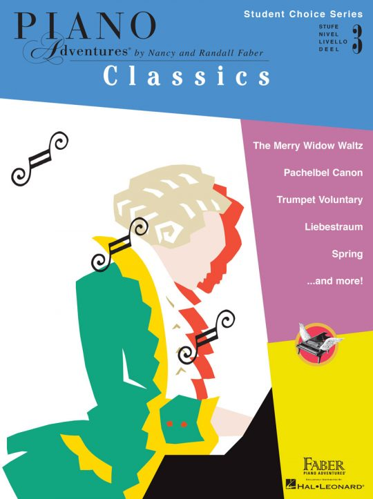 Piano Adventures Student Choice Classics Level 3