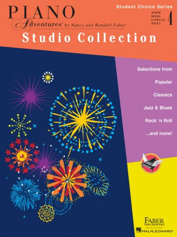 Piano Adventures Student Choice Studio Collection Level 4