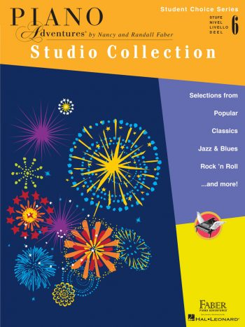Piano Adventures Student Choice Studio Collection Level 6