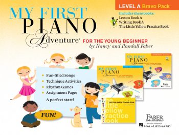 My First Piano Adventure Level A Bravo Pack