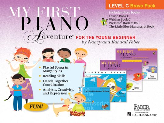 My First Piano Adventure Level C Bravo Pack