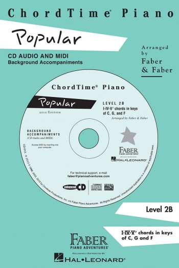 ChordTime® Piano Popular CD
