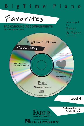 BigTime® Piano Favorites CD