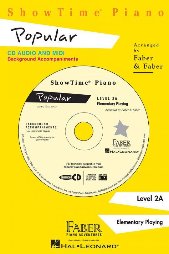 ShowTime® Piano Popular CD