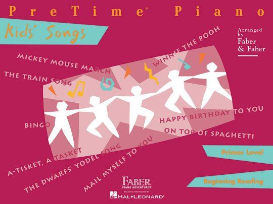 PreTime® Piano Kids' Songs
